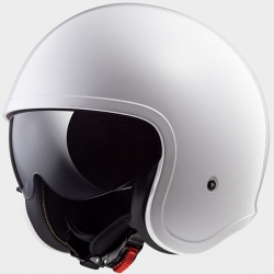 Kask firmy LS2 model SPITFIRE Gloss White